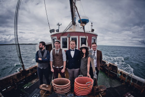 Rend Collective press shot - Fishing boat